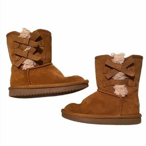 ✨HP✨Children's Brown Bow Ugg Boots